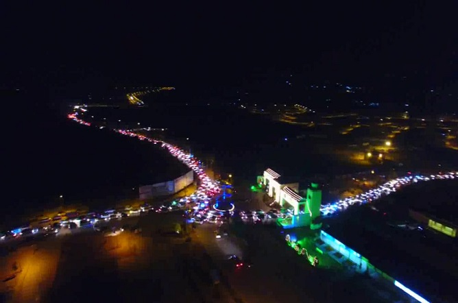 Bahria Enclave Hosted the Humongous New Year Celebration For Rawalpindi and Islamabad