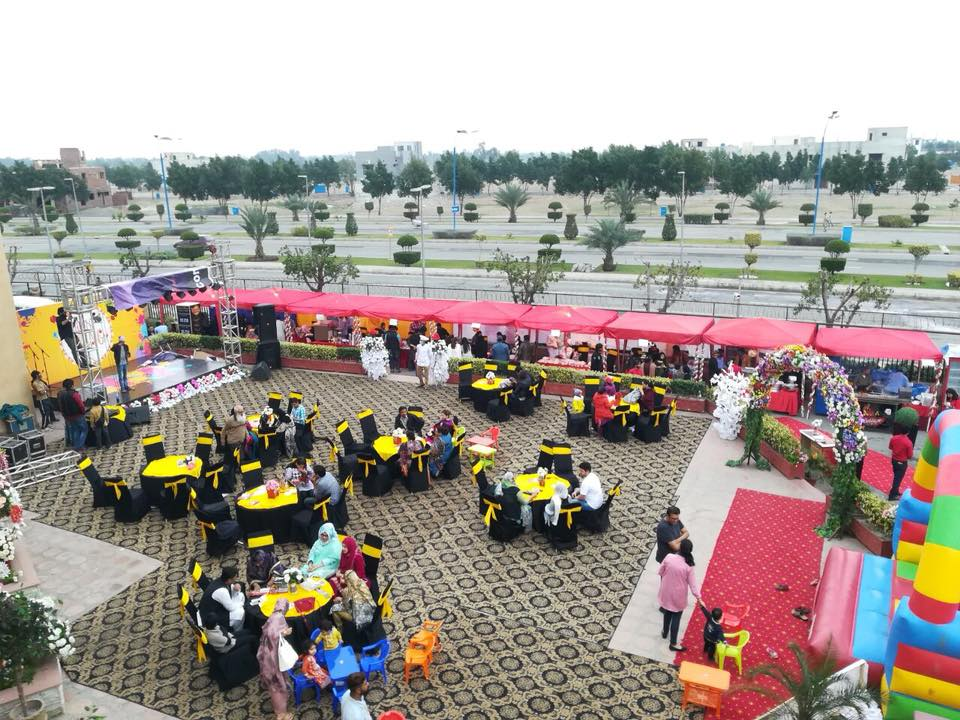 Spring Festival in Bahria Town Lahore, at Arena